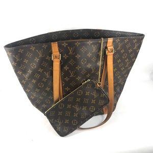 Louis Vuitton Bags - ✅XL JUMBO LOUIS VUITTON TOTE & ZIPPER POUCH